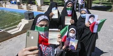 مشارکت مردم در پایتخت اقوام ایران زمین رکورد زد/ حماسه تماشایی جشن انتخابات در گام دوم انقلاب