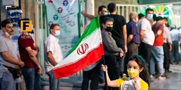فیلم| حضور مردم برای ایران مقتدر