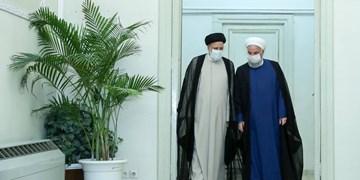 روحانی پیروزی رئیسی در انتخابات ریاست جمهوری را تبریک گفت