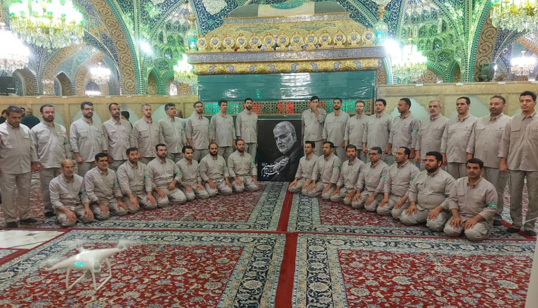 سفری که سردار سلیمانی قولش را داده بود / حضور گروه محمد رسولالله (ص) در سوریه 3