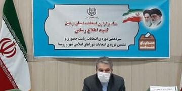 مشارکت 54.3 درصدی مردم استان اردبیل در انتخابات 28خرداد 1400