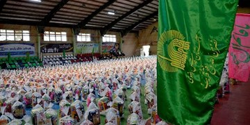 ۸۸۸ هزار بسته معیشتی با پویش «به لطف امام» به دست محرومان میرسد