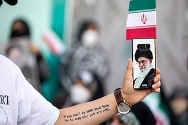 جشن پیروزی هواداران آیتالله رئیسی در تهران
