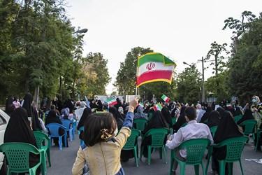 جشن پیروزی هواداران آیتالله رئیسی در ارومیه