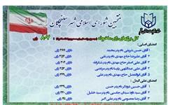 منتخبان شورای اسلامی شهر سلفچگان معرفی شدند