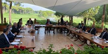 تأکید ظریف، چاووش اوغلو و اتمر بر مشارکت فعال در روند صلح افغانستان و مبارزه با تروریسم