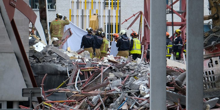 ریزش مدرسه در دست ساخت در بلژیک 5 کشته برجا گذاشت