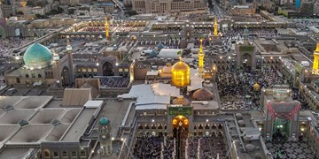 پایتخت زیارت ایران در شب میلاد امام هشتم/ حرم شلوغ است، مشهد خلوت