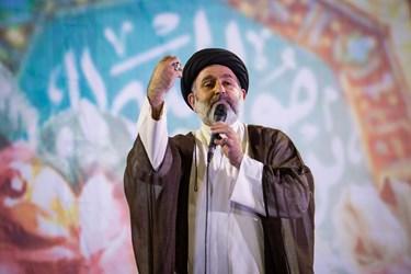 حجت الاسلام سید شمس الدین موسوی رئیس شورای هماهنگی ستاد آیت الله رئیسی در استان قزوین