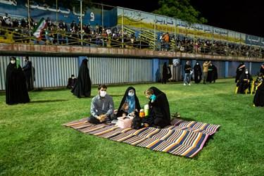حضور خانوادگی مردم در جشن میلاد امام رضا(ع) و پیروزی گفتمان انقلاب اسلامی
