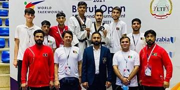 تکواندوی افغانستان، در سکوی هفتم آسیا ایستاد