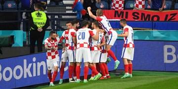 یورو 2020| صعود انگلیس با طعم صدرنشینی/ برد پرگل کروات ها