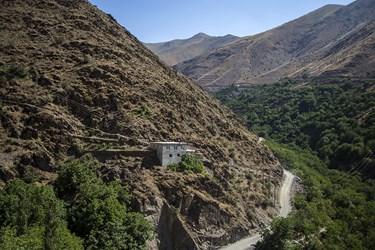 یکی از خانه های روستای دولاب