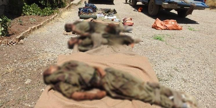 5 عضو یک تیم تروریستی ضدانقلاب در کردستان به هلاکت رسیدند