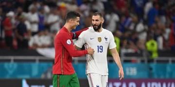 یورو 2020|آلمان به سختی در جام ماند/تساوی فرانسه و پرتغال در شبی که کریس به دایی رسید