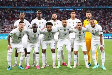 گزارش تصویری از رویارویی تیم های فرانسه و پرتغال