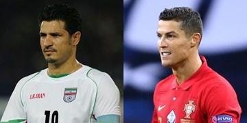 دایی: رونالدو یکی از 3 بازیکن برتر تاریخ فوتبال دنیاست/ او می تواند به یک رکورد فوقالعاده برسد
