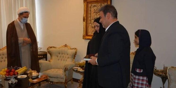 دیدار رئیس سازمان بازرسی کل کشور با خانواده شهدای سازمان بازرسی