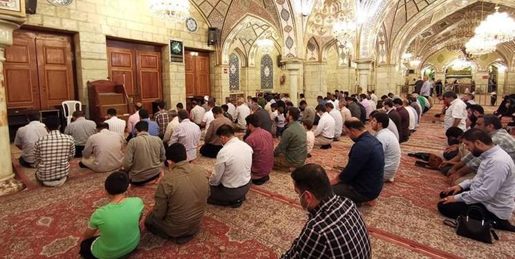مراسم دعای کمیل در حرم حضرت رقیه (س)+عکس