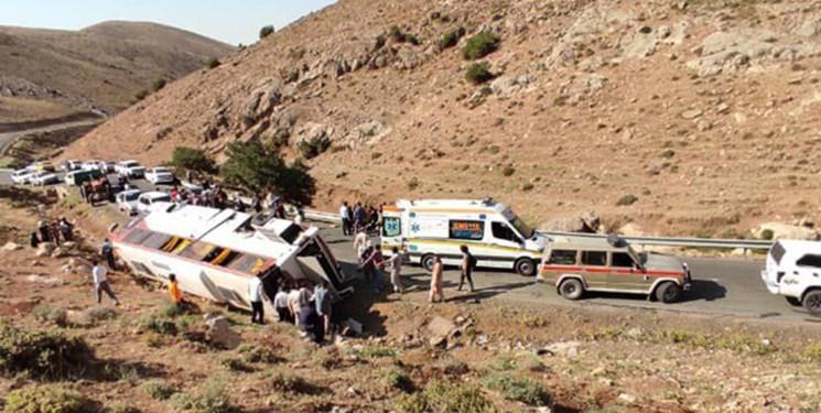 جزئیاتی از حادثه مرگبار اتوبوس حامل سربازان/ برخورد اتوبوس با سرعت 145 کیلومتر به عقب یک تریلی
