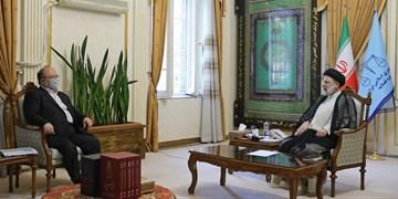 وزیر کار و رفاه اجتماعی با آیتالله رئیسی دیدار کرد