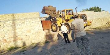 تشدید رودخانهخواری در خشکسالی!/ ۲۵ باغویلای غیرمجاز و متجاوز به حریم رودخانه قلعوقمع شدند
