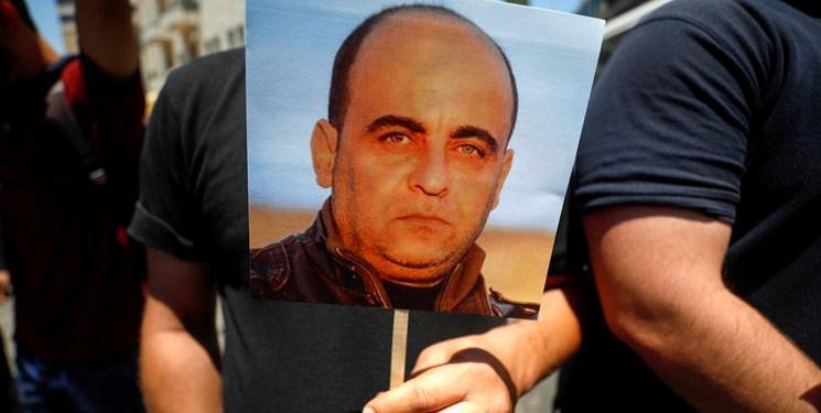 انتشار ویدئوی لحظه تعرض نیروهای رامالله به فعال شهید فلسطینی