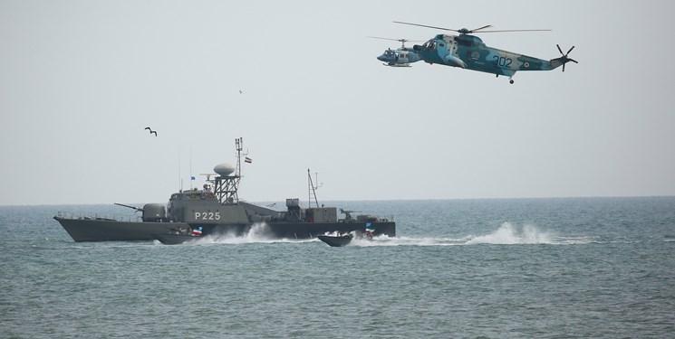 دریای خزر تحت نظر چشمان دریایی ارتش ایران