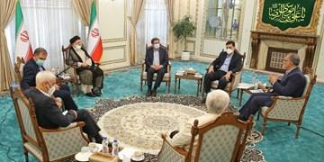 رئیسی: جلسه بسیار خوبی با کاندیداهای ریاست جمهوری داشتیم/ امیدواریم این همدلیها منتهی به رفع مشکلات مردم شود