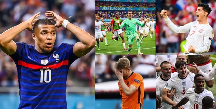 ترینهای یک هشتم نهایی یورو 2020| امباپه ناکام بزرگ؛ اشتباه عجیب مولر و دلیخت و شاهکار سوئیس در زیباترین هفته تاریخ!