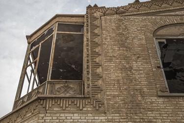 نمای بیرونی عمارت 100 ساله نواب در یزد