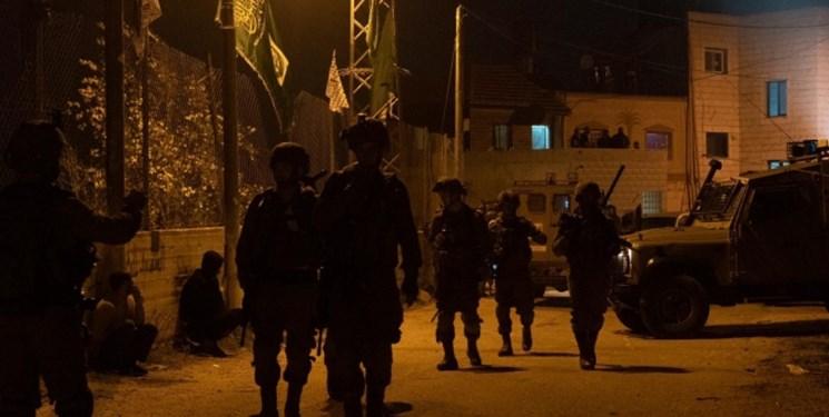 بازداشت گسترده فلسطینیان در کرانه باختری و قدس