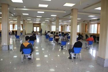 برگزاری کنکور در دانشگاه تفرش