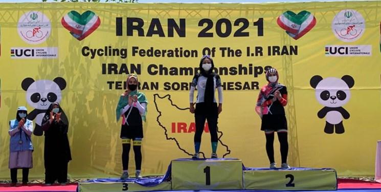 درخشش دختران دوچرخهسوار آذربایجانشرقی در مسابقات قهرمانی کشور