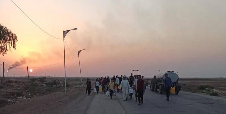 روایت یک عکس| بیآبی در جوار دکلهای نفتی هورالعظیم