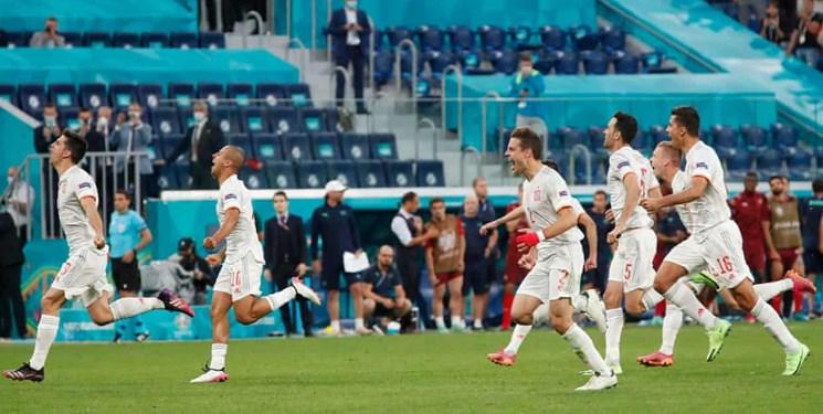 یورو 2020| شگفتی تکمیل نشد/ اسپانیا به سختی به نیمه نهایی رسید