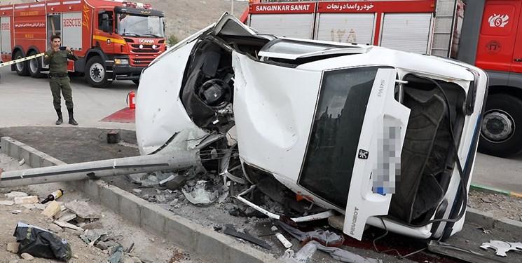 روز پر حادثه در جادههای کرمانشاه/ سه نفر جان خود را از دست دادند
