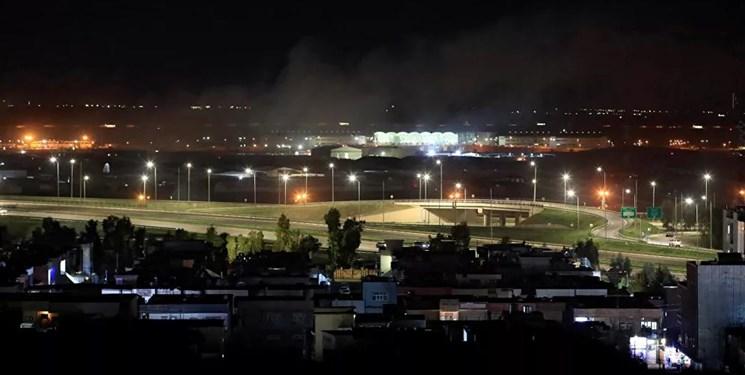 فرودگاه اربیل هدف حمله پهپادی قرار گرفت