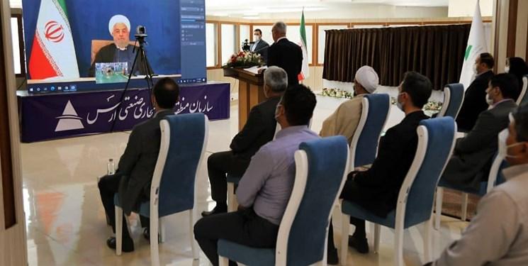 عجیبترین افتتاح دولت روحانی
