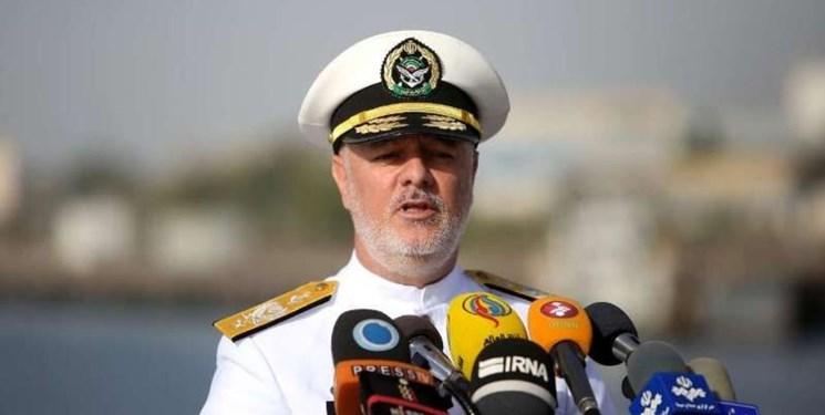 حضور فرمانده نیروی دریایی ارتش ایران در رژه دریایی ارتش روسیه