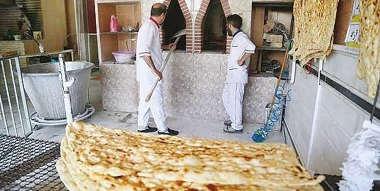 انواع نان در قزوین ۵۰ الی ۷۰ درصد گران شد
