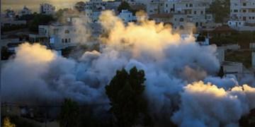 تلآویو، خانه اسیر فلسطینی در کرانه باختری را منفجر کرد +فیلم