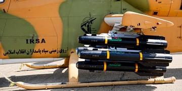 آیین الحاق تجهیزات جدید||| به نیروی زمینی سپاه