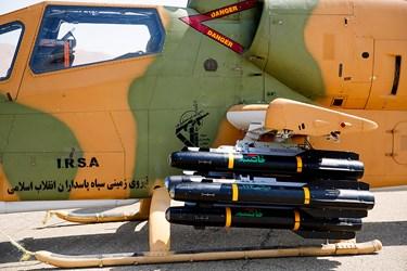 آیین الحاق تجهیزات جدید به نیروی زمینی سپاه