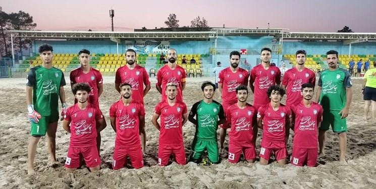 مصاف نماینده گیلانی با قهرمان لیگ برتر فوتبال ساحلی