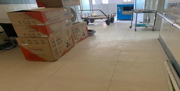 تجهیز ضربتی بیمارستان بوعلی زاهدان به سیستم سرمایشی همزمان با سفر وزیر بهداشت