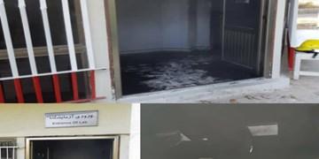 جزئیات آتشسوزی در بیمارستان مراغه