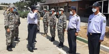 بازدید فرمانده نیروی پدافند هوایی ارتش از منطقه پدافندی تهران