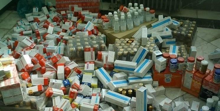 کشف ۲ میلیارد تومانی داروهای احتکار شده کرونایی/ متهم اصلی دستگیرشد