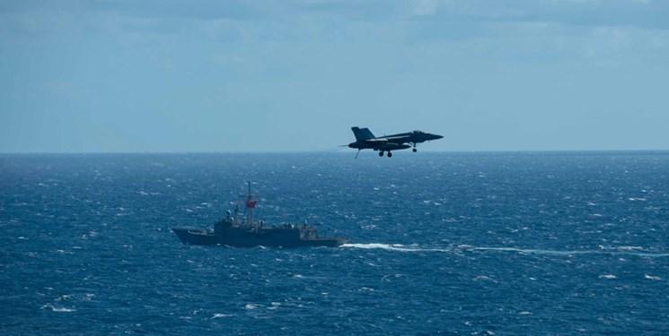 تمرین نظامی آمریکا، انگلیس و بحرین در خلیج فارس
